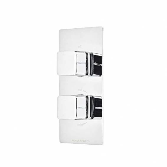 Roper Rhodes Veer Thermostatic Dual Function Recessed Shower Valve