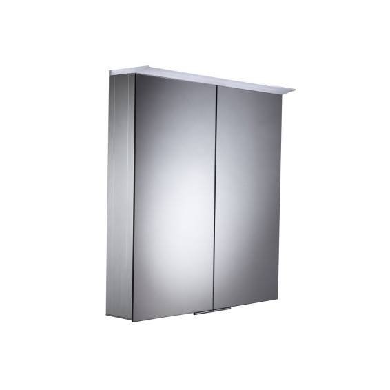 Roper Rhodes Venture Illuminated Aluminium Bathroom Cabinet 655mm