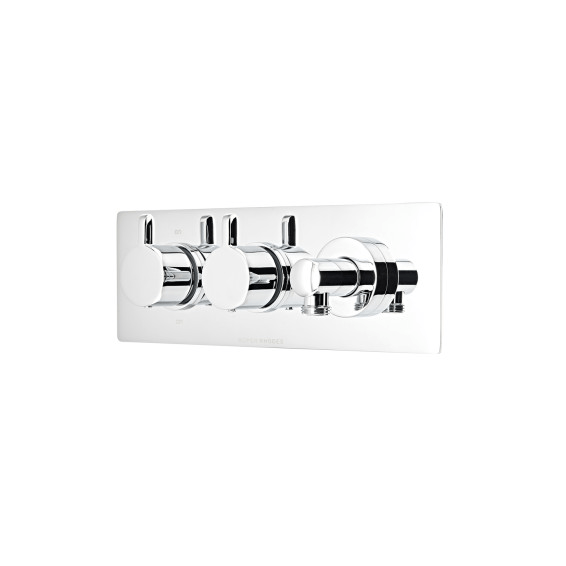Roper Rhodes Verse Thermostatic Dual Function Recessed Shower Valve with Outlet