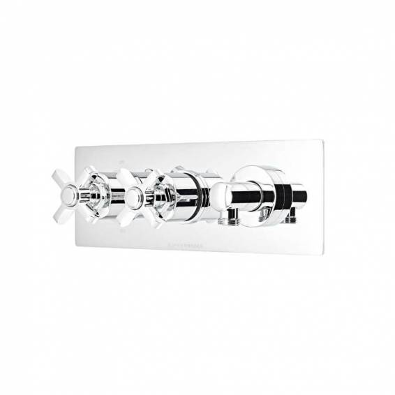 Roper Rhodes Wessex Thermostatic Dual Function Recessed Shower Valve with Outlet