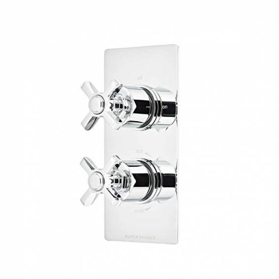 Roper Rhodes Wessex Thermostatic Single Function Recessed Shower Valve
