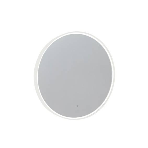 Roper Rhodes White Frame Circular Illuminated Bathroom Mirror 800mm