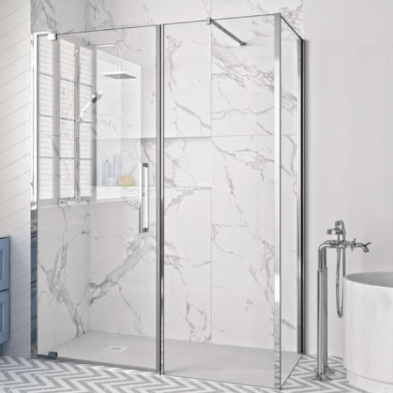 Merlyn 10 Series Optional Side Panel for Pivot Door & Inline Panels