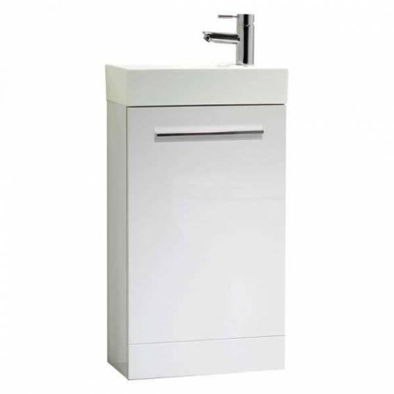 Tavistock Kobe 450mm Freestanding Vanity Unit & Basin Gloss White