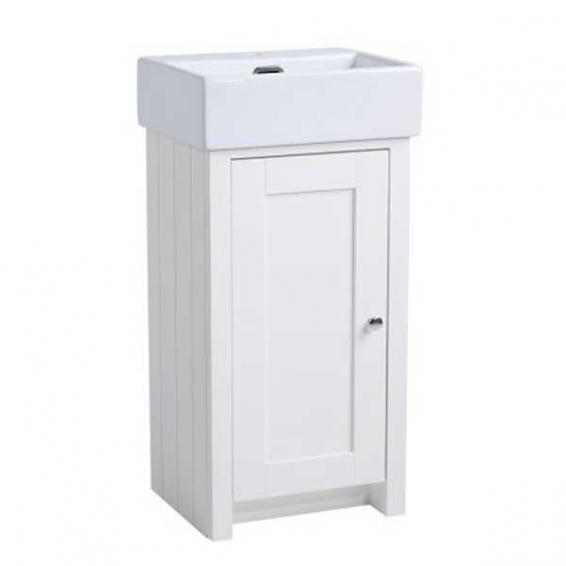 Tavistock Lansdown 430mm Cloakroom Vanity Unit & Basin Linen White