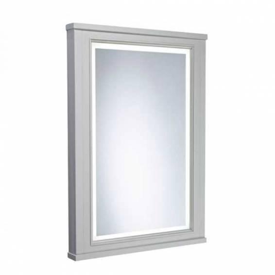 Tavistock Lansdown 556mm Framed Illuminated Mirror Pebble Grey