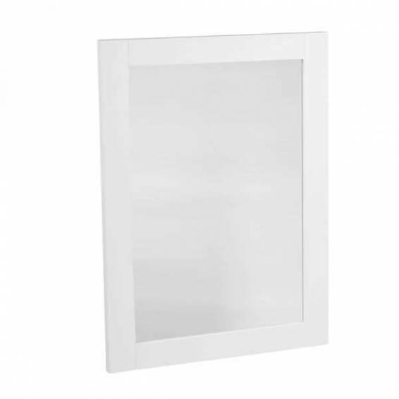 Tavistock Lansdown 570mm Wooden Framed Mirror Linen White