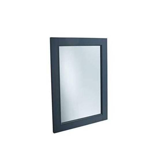 Tavistock Lansdown 570mm Wooden Framed Mirror Matt Dark Grey