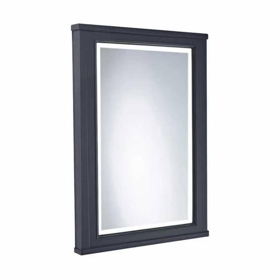 Tavistock Vitoria 556mm Framed Illuminated Mirror Matt Dark Grey