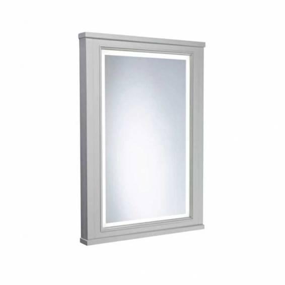 Tavistock Vitoria 556mm Framed Illuminated Mirror Pebble Grey