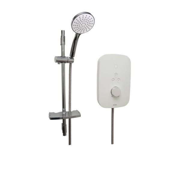Bristan Solis 10.5kw Electric Shower White