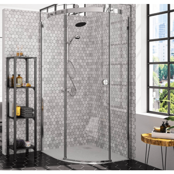 Merlyn 10 Series 1 Door Quadrant Shower Enclosure Right Hand 800 x 800mm