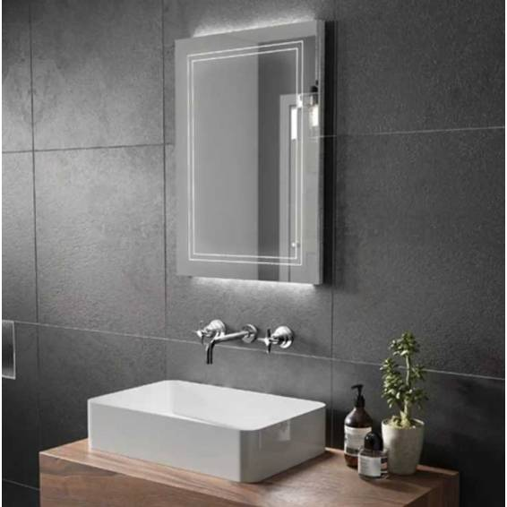 HIB Outline 60 LED Ambient Mirror 800 x 600mm