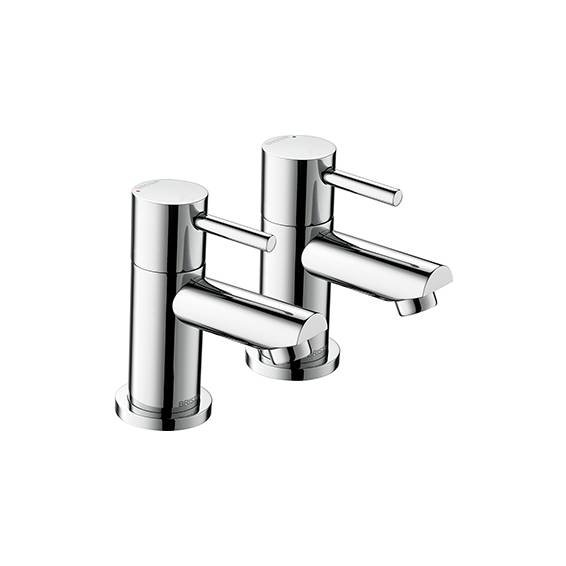 Bristan Blitz Bath Taps Chrome