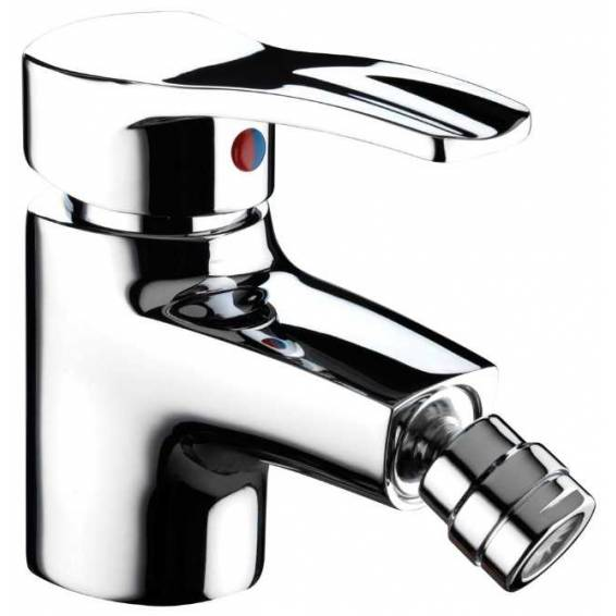 Bristan Capri Bidet Mixer & Pop Up Waste Chrome
