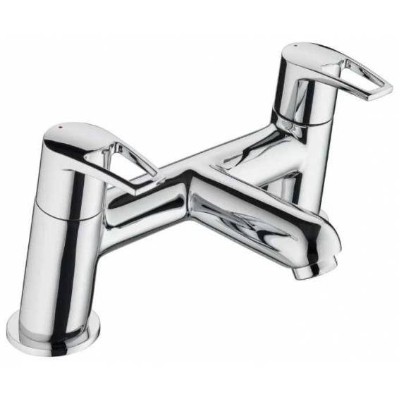 Bristan Smile Bath Filler Chrome