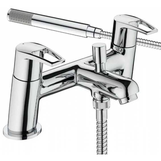 Bristan Smile Bath Shower Mixer Tap Chrome