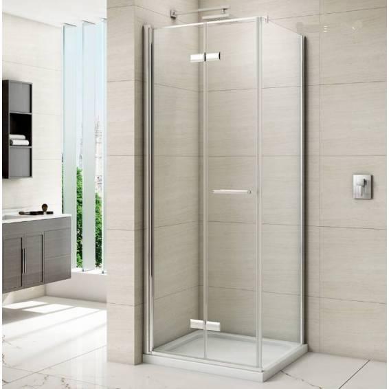 Merlyn 8 Series Frameless 760mm Side Panel For Hinged Bifold Doors
