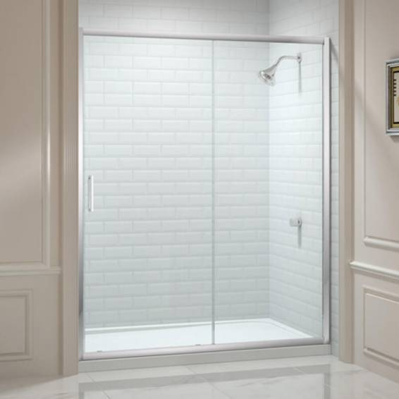 Merlyn 8 Series Sliding Shower Door with Tray 1200mm